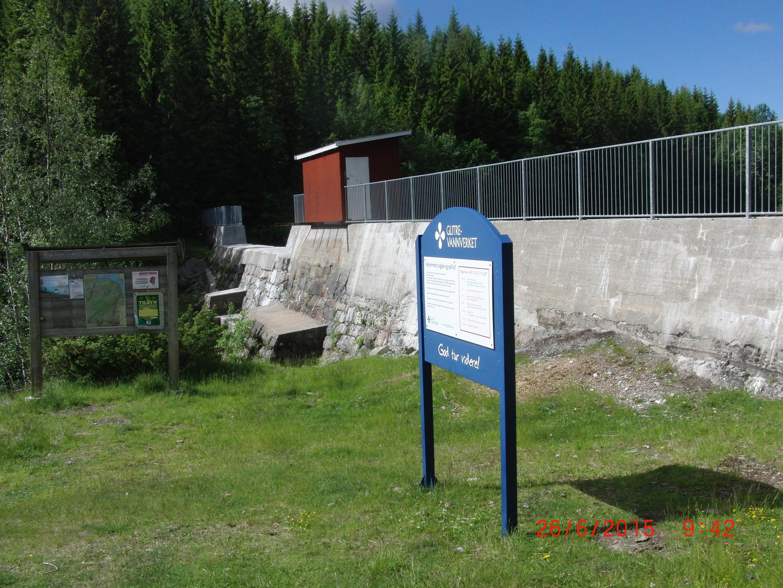 Glitrevannverket kjører flomreglement