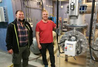 Forsterket vannbehandling på Røysjø