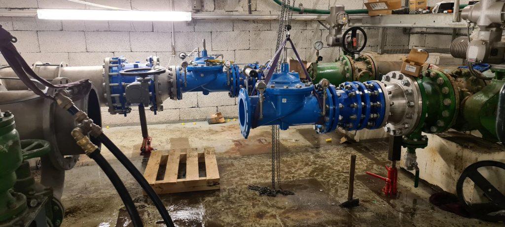 Bilde: vannrør i et ventikammer